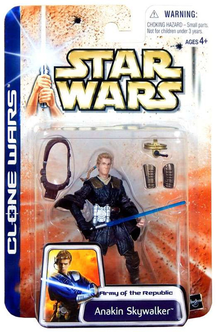 Star Wars The Clone Wars Unknown Year Anakin Skywalker Action Figure