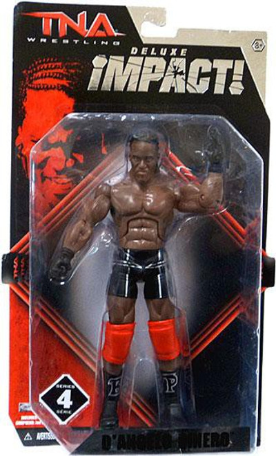 TNA Wrestling Deluxe Impact Series 4 D'Angelo Dinero Action Figure [Pope]