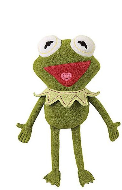 Disney The Muppets Pook-a-Looz Kermit the Frog Plush Doll