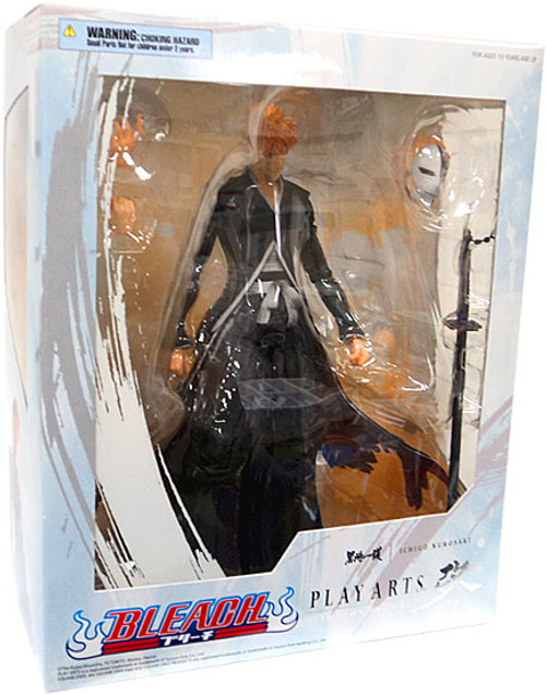 Bleach Play Arts Kai Ichigo Action Figure