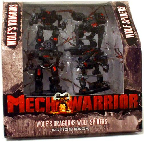 MechWarrior Wolf's Dragoons Wolf Spiders Action Pack Action Pack
