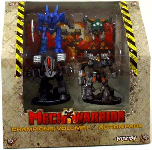 MechWarrior Champions Volume 1 Action Pack
