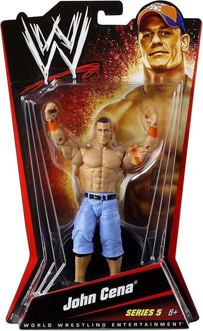 WWE Wrestling Series 5 John Cena Action Figure