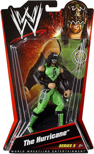 WWE Wrestling Series 5 The Hurricane Action Figure