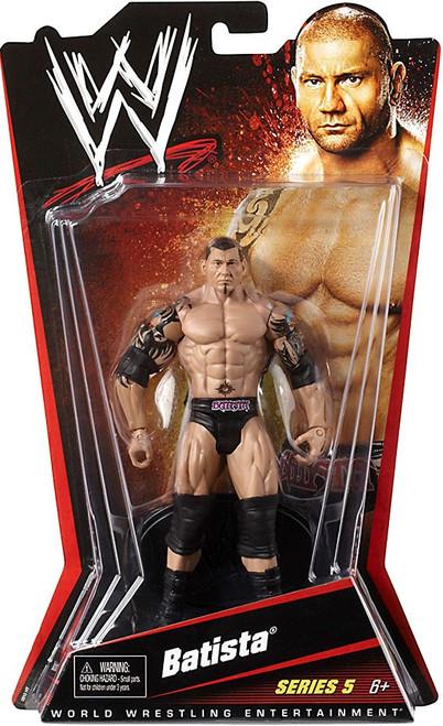 WWE Wrestling Series 5 Batista Action Figure