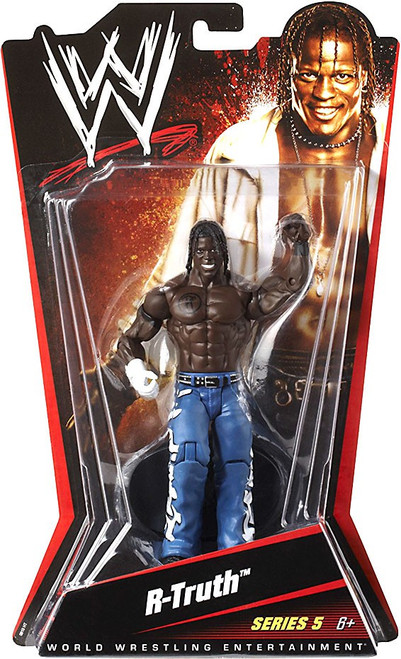 WWE Wrestling Series 5 R-Truth Action Figure