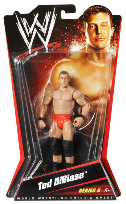 WWE Wrestling Series 6 Ted Dibiase Action Figure