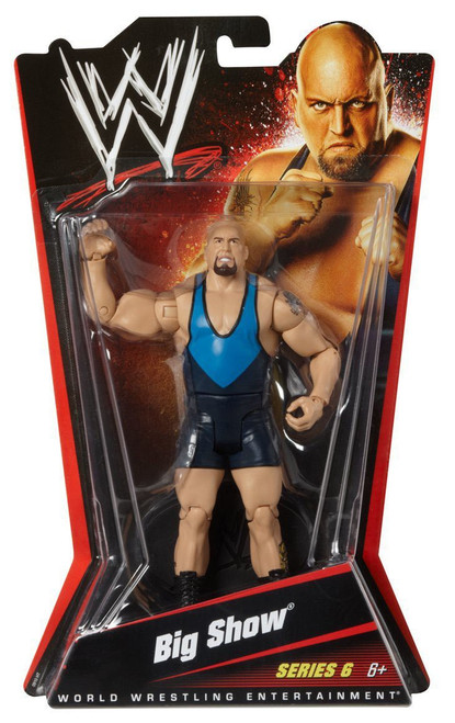 WWE Wrestling Series 6 Big Show Action Figure