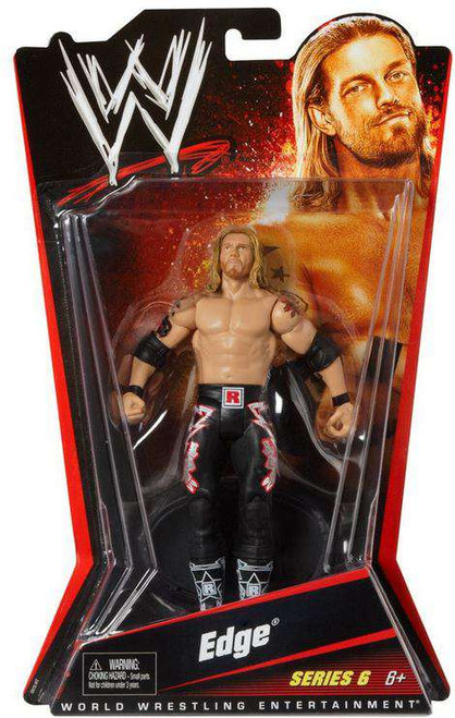 WWE Wrestling Series 6 Edge Action Figure