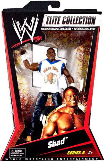 WWE Wrestling Elite Series 6 Shad Action Figure