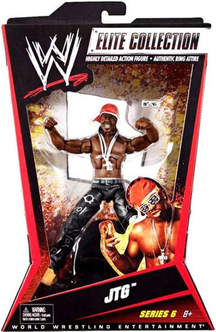 WWE Wrestling Elite Series 6 JTG Action Figure