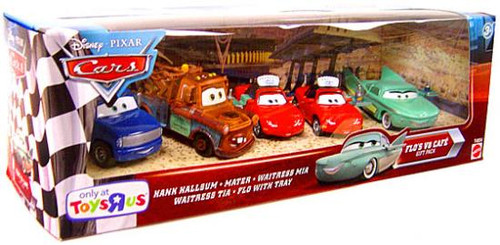 Disney Cars Multi-Packs Flo's V8 Cafe Exclusive Diecast Car Set