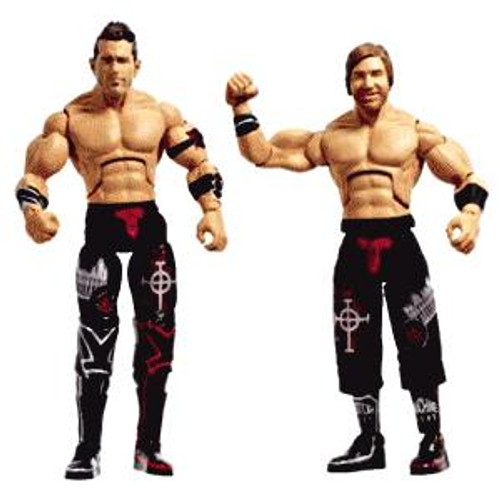 TNA Wrestling Cross the Line Series 2 Motor City Machine Guns Action Figure 2-Pack