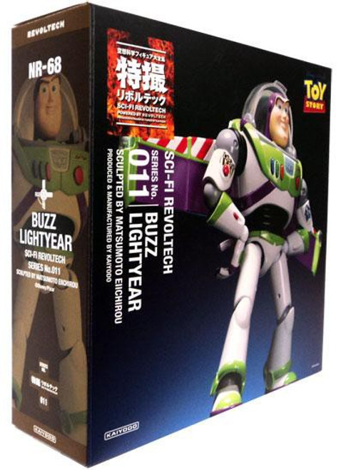 Toy Story Sci-Fi Revoltech Buzz Lightyear Action Figure #011