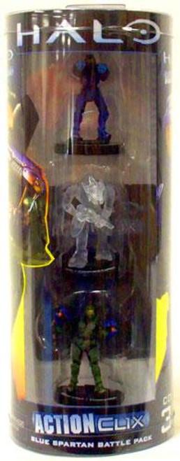 NECA Halo ActionClix Blue Spartan Battle Pack