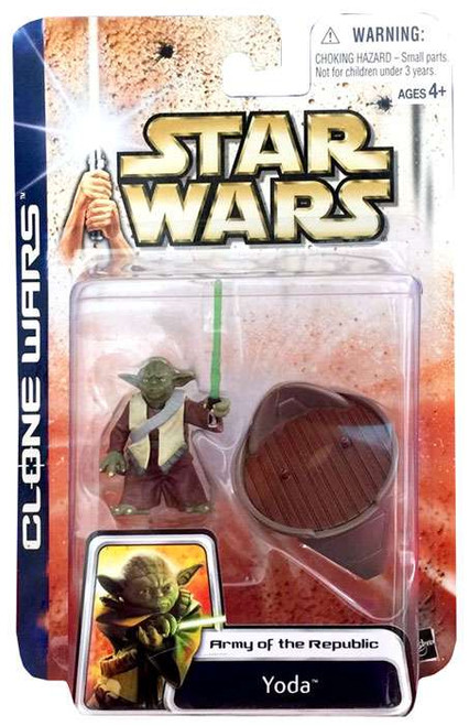 Star Wars Attack of the Clones Unknown Year Yoda Action Figure
