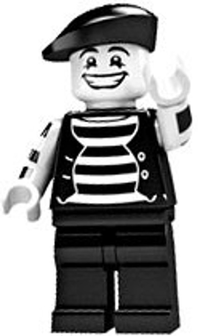 LEGO Minifigures Series 2 Mime Artist Minifigure [Loose]