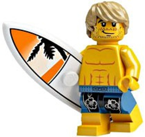 LEGO Minifigures Series 2 Surfer Dude Minifigure [Loose]