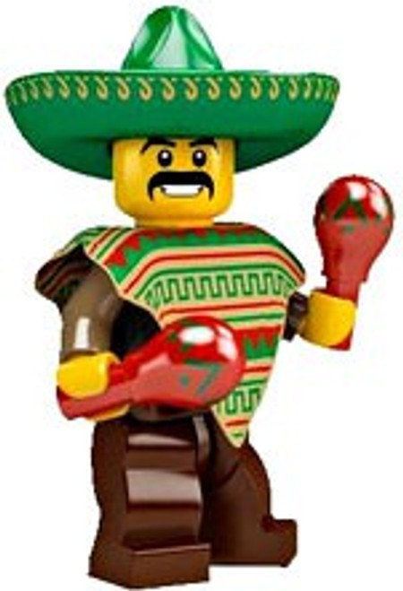 LEGO Minifigures Series 2 Mexican Minifigure [Loose]