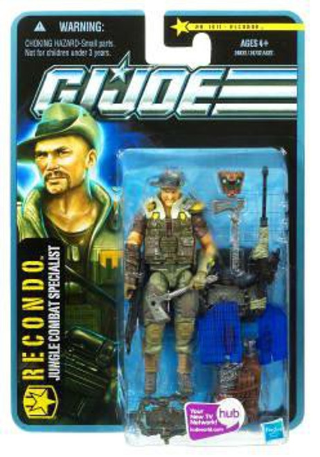 GI Joe Pursuit of Cobra Recondo Action Figure