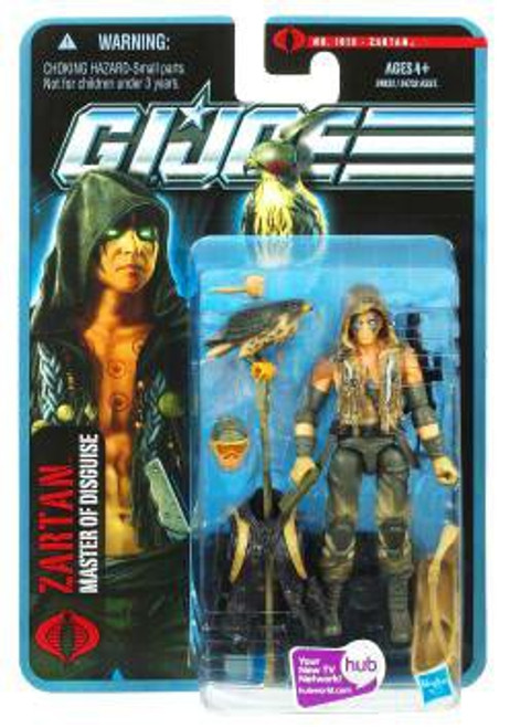 GI Joe Pursuit of Cobra Zartan Action Figure [Desert Battle]