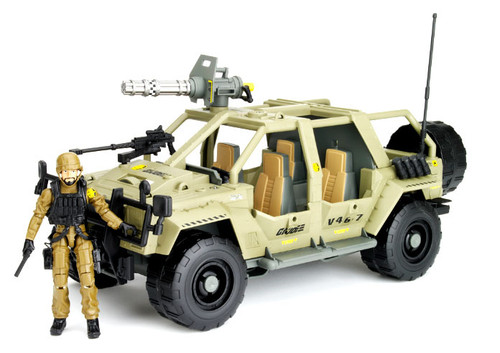 GI Joe Pursuit of Cobra VAMP 4X4 Action Figure Vehicle