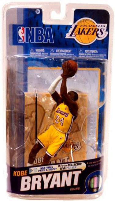 McFarlane Toys NBA Los Angeles Lakers Sports Picks Series 18 Kobe Bryant Action Figure [NBA Logo & White Armband]
