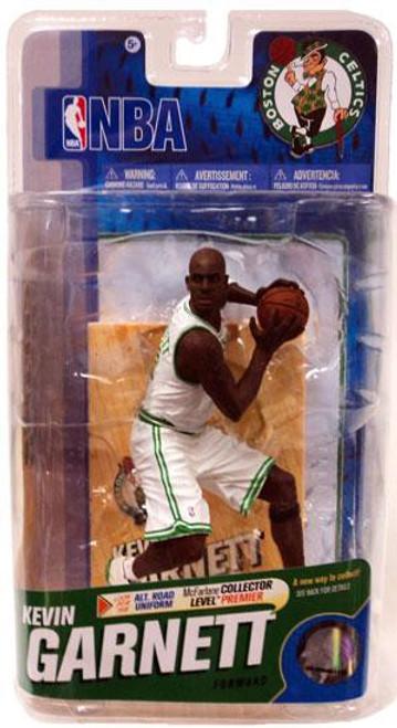 McFarlane Toys NBA Boston Celtics Sports Picks Series 18 Kevin Garnett Action Figure [White Jersey]