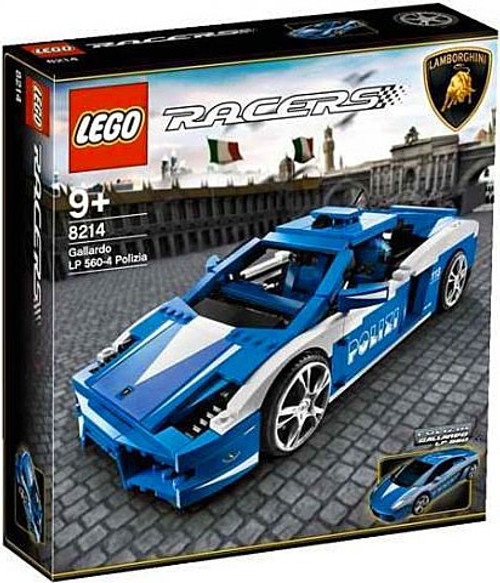 LEGO Racers Police Lamborghini Gallardo Exclusive Set #8214