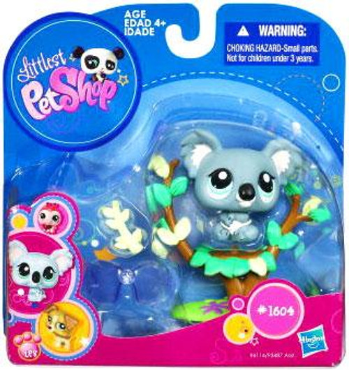 Littlest Pet Shop 2010 Assortment A Series 4 Koala Figure #1604