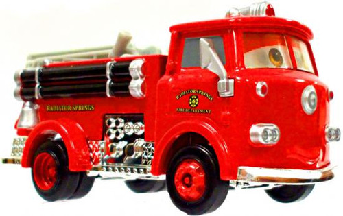 Disney Cars Loose Lenticular Red the Firetruck Diecast Car [Loose]