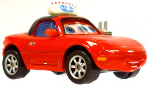 Disney Cars Loose Lenticular Waitress Tia Diecast Car [Loose]