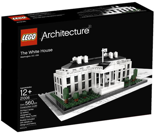LEGO Architecture The White House Set #21006