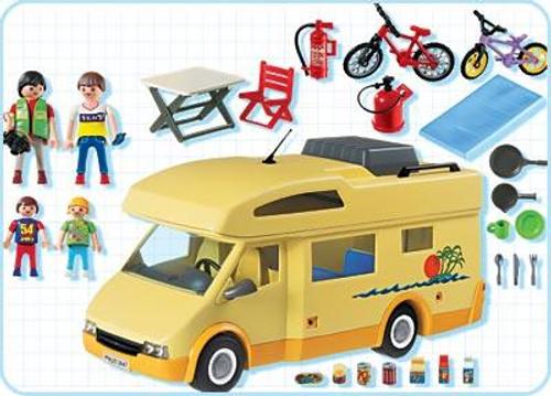 Playmobil Suburban Life Family Camper Set #3647