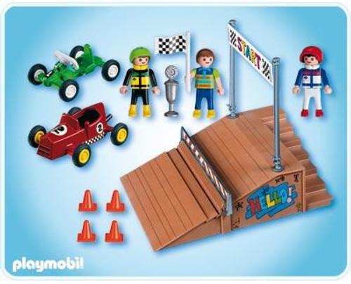 Playmobil Transport Go-Cart Race Compact Set Set #4141