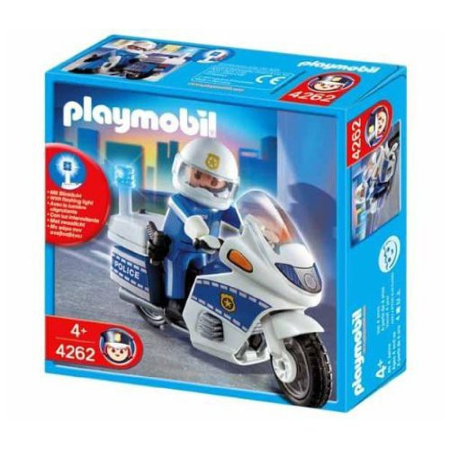 Playmobil Police Motorcycle Patrol Set #4262