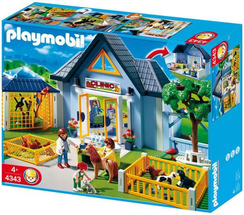 Playmobil Zoo Animal Clinic Animal Clinic Set #4343