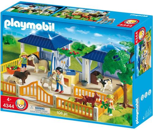 Playmobil Zoo Animal Clinic Animal Nursery Set #4344
