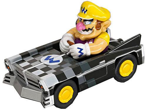 Super Mario Mario Kart DS Pull & Speed Wario Brute 3.5-Inch Vehicle #19302