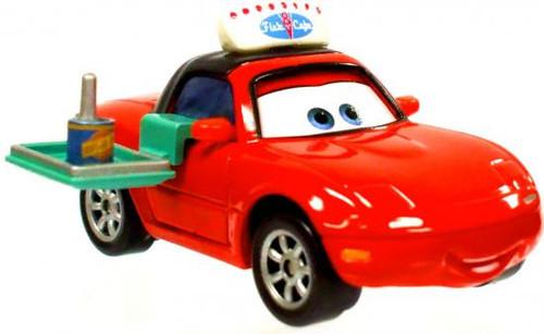 Disney Cars Loose Lenticular Waitress Mia Diecast Car [Flo's V8 Cafe, Loose]
