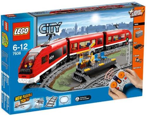 LEGO City Passenger Train Exclusive Set #7938