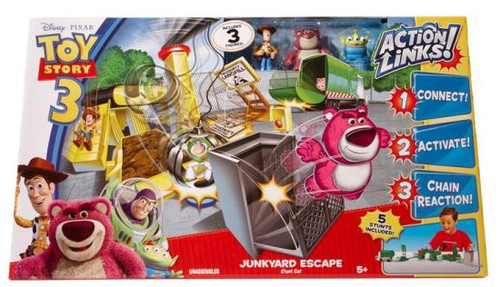 Toy Story 3 Action Links Stunt Set Junkyard Escape Playset