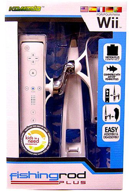 Nintendo Wii Fishing Rod Plus Video Game Controller