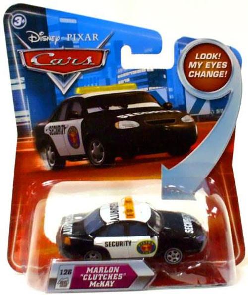 "Disney Cars Lenticular Eyes Series 2 Marlon ""Clutches"" McKay Diecast Car"