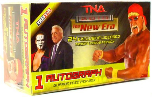 TNA Wrestling 2010 TNA New Era Value Trading Card Box