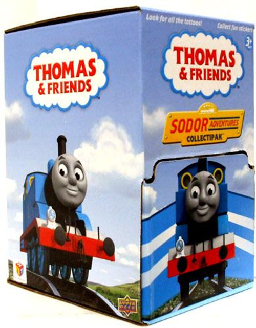 Thomas & Friends Sodor Adventures Collectipak Trading Card Box