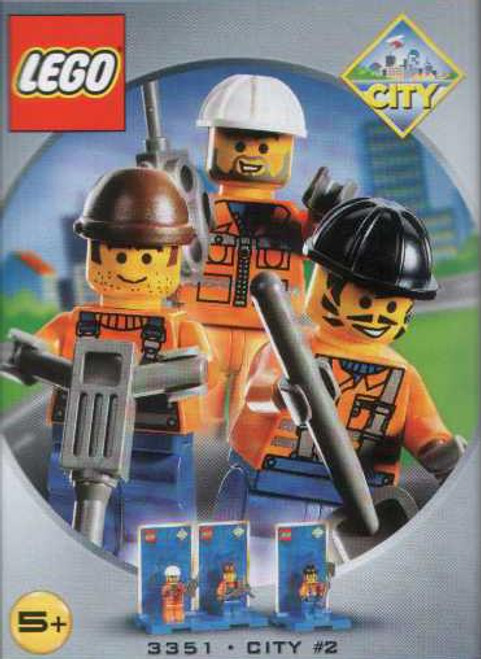 LEGO City Mini Heroes #2 Set #3351