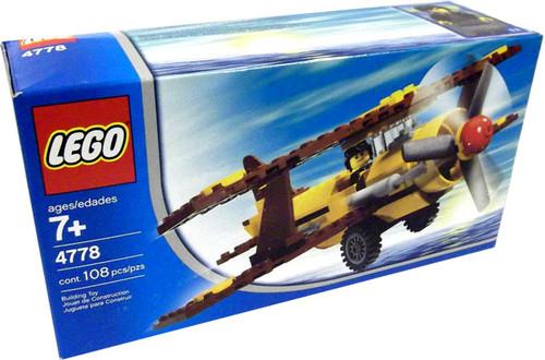 LEGO Desert Biplane Set #4778
