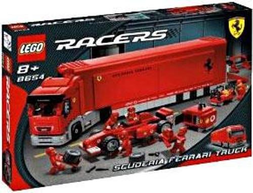 LEGO Racers Scuderia Ferrari Truck Set #8654