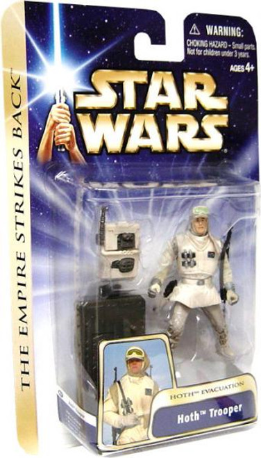 Star Wars The Empire Strikes Back Basic 2004 Hoth Trooper Action Figure #01 [Hoth Evacuation]